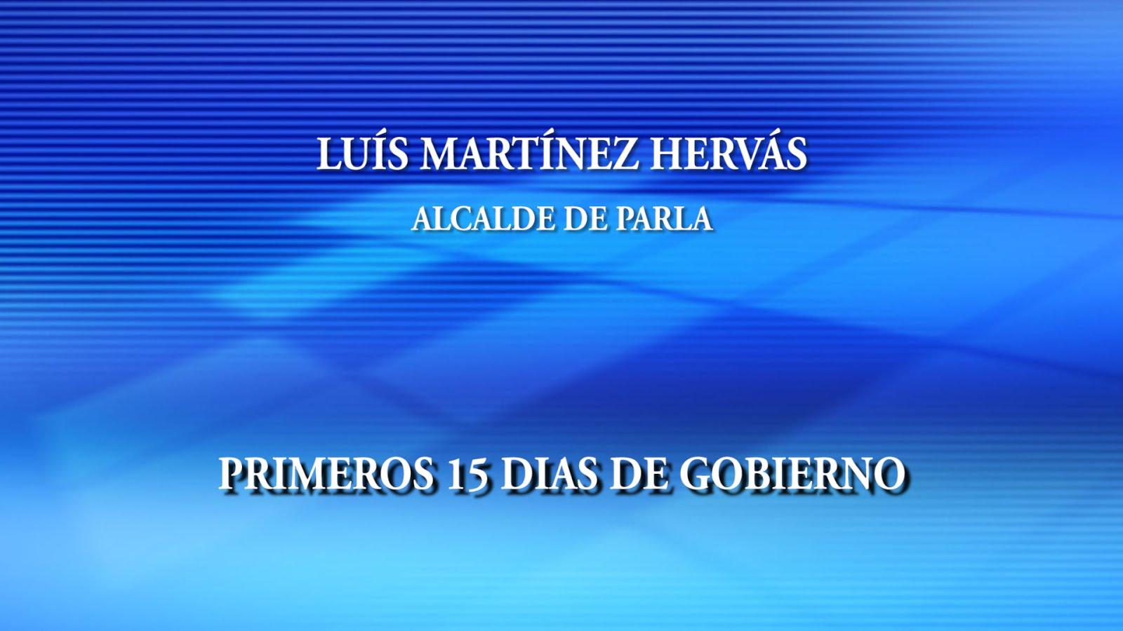 LUIS MARTINEZ HERVAS - Alcalde de Parla