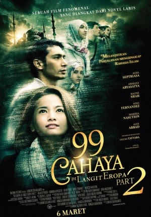 Movie] 99 Cahaya di Langit Eropa Part 2 (2014)