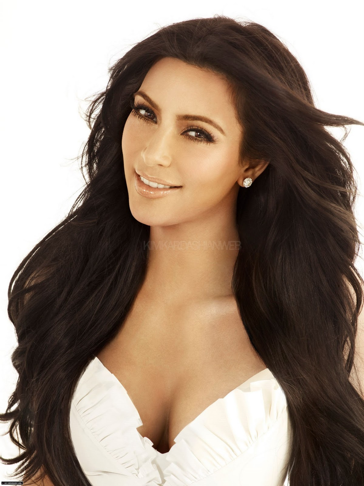 Hollywood Trendy Kim Kardashian Hairstyles