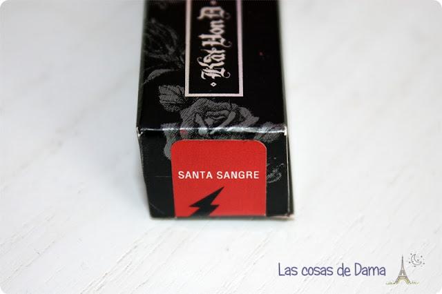 Kat Von D Everlasting Liquid Lipstick Santa Sangre