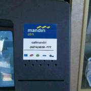 Penipuan Baru Di ATM Mandiri (Pakai Nomor Palsu)