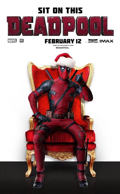 Deadpool nos felicita las navidades a su manera