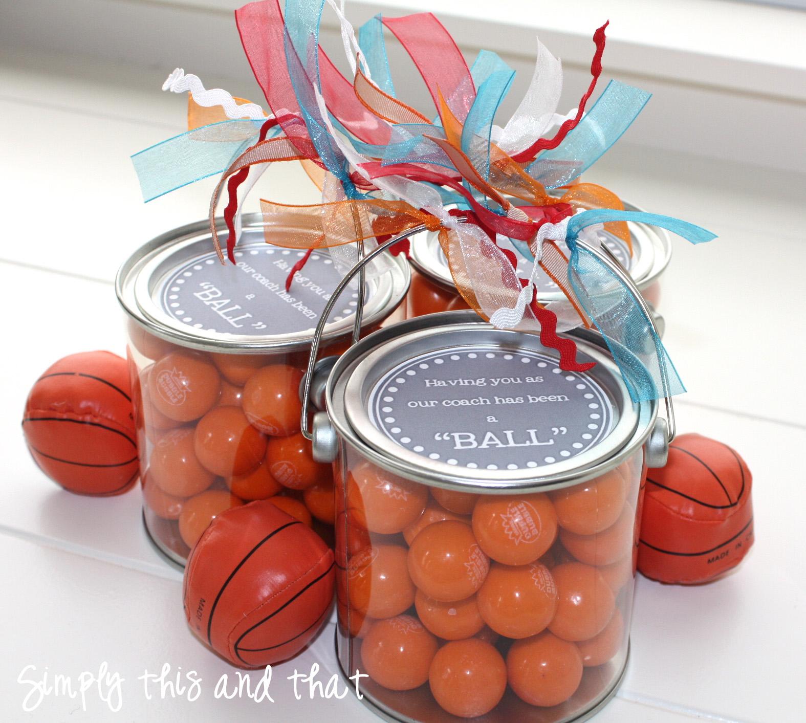 basketball coach gift ideas