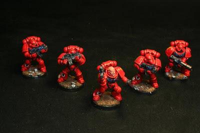 Escuadra táctica de los Marines Espaciales para W40K