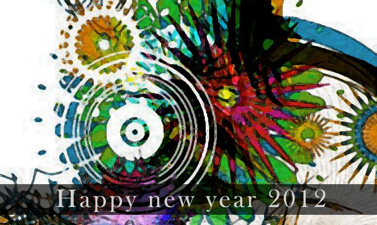 wallpaper new year 2012
