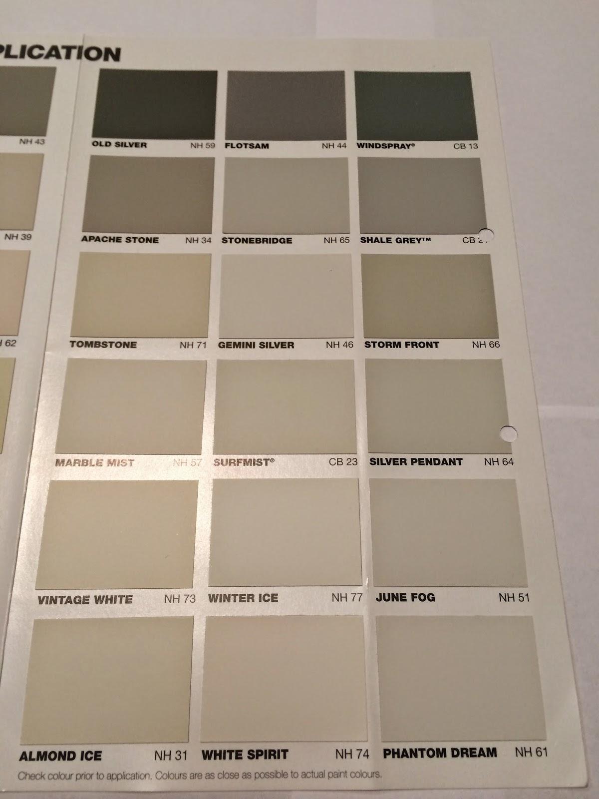 Building a better home examples of taubman paint colours - Taubmans exterior paint colours set ...