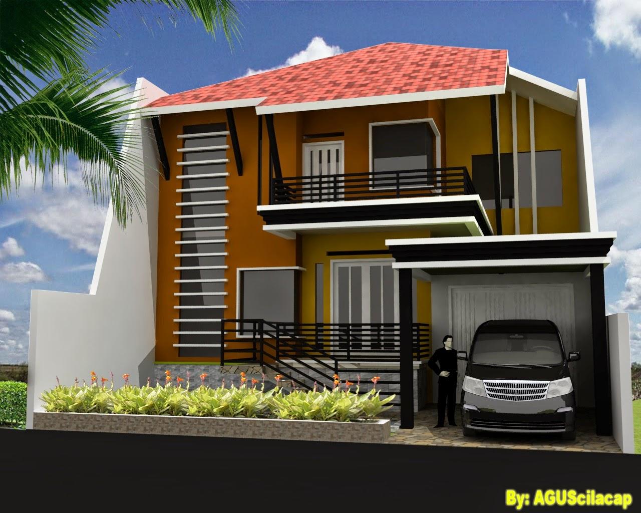 Desain Rumah Minimalis 2 Lantai Type 80 Gambar Foto Desain Rumah