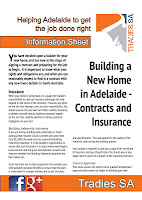 Tradies SA provides advice and guidance for Adelaide homeowners
