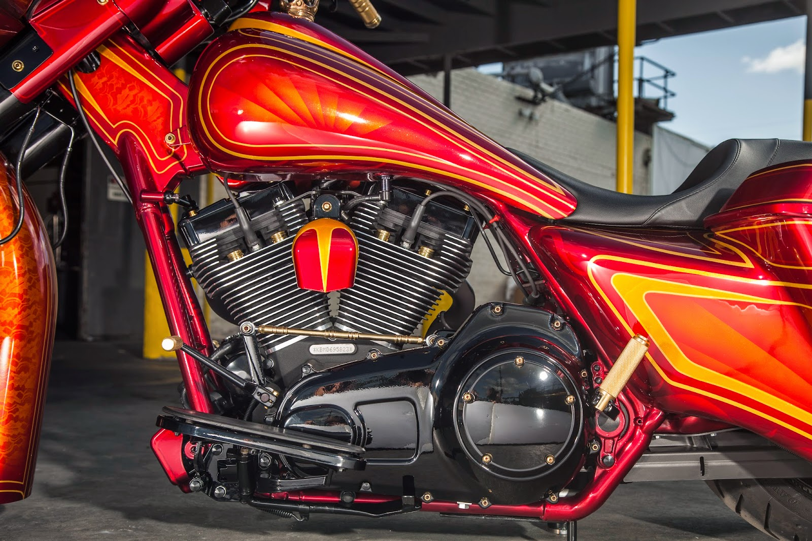 Brock Chobar Arizona Baddest Bagger Harley Davidson Street Glide