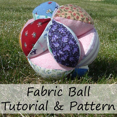 http://kathyhaynie.blogspot.com/2010/03/fabric-balls-craft-tutorial.html