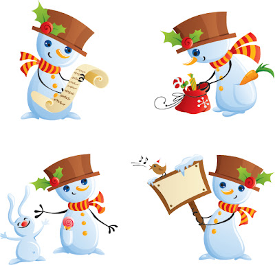 Beautiful Christmas Material Late Free Vector Graphics - 04