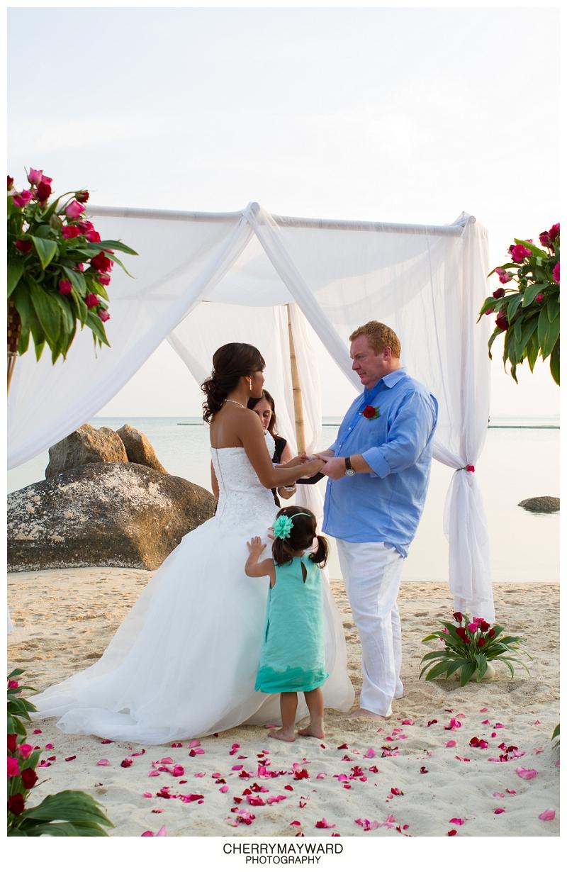 Lamai Beach Wedding, Koh Samui