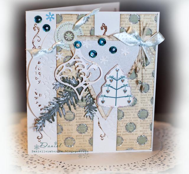 открытка своими руками рождество