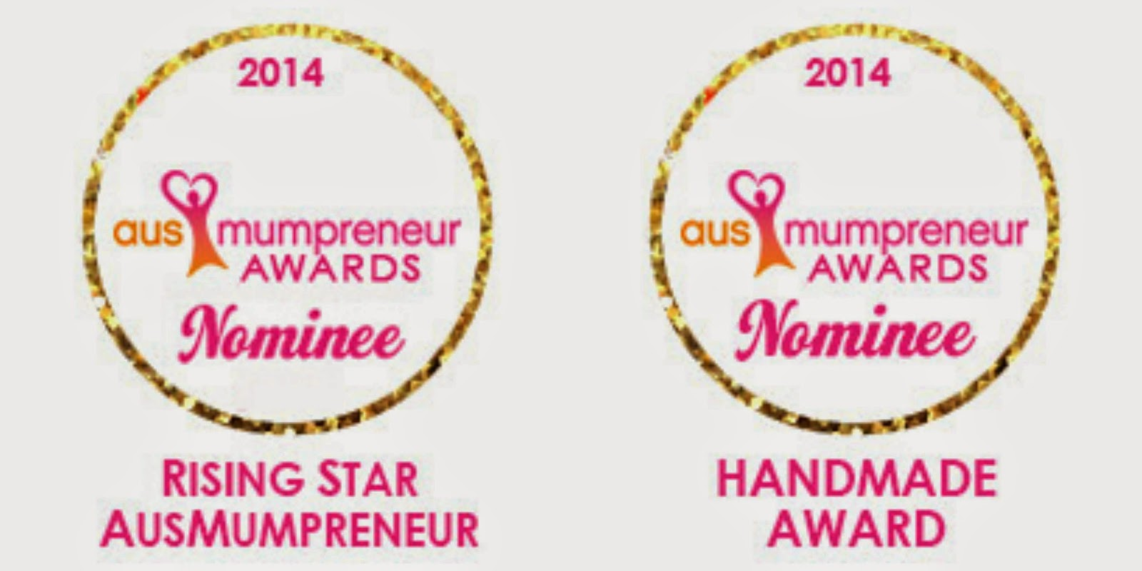 ausmumpreneur nominee rising star handmade award