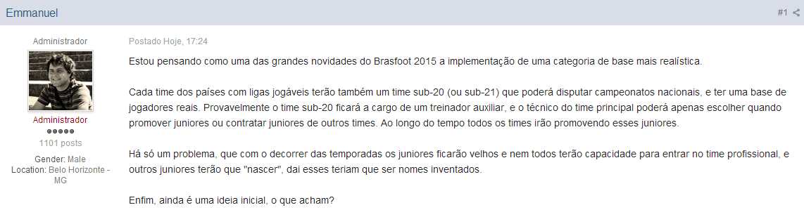 Categorias de Base Brasfoot 2015
