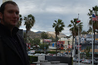 Simon Guerrier in Hollywood, February 2012