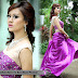 Celebrity Fashion: La Min Ein in Purple Gown
