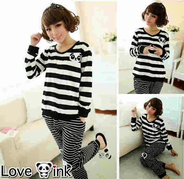 Pyjamas Panda Salur.Love Ink.