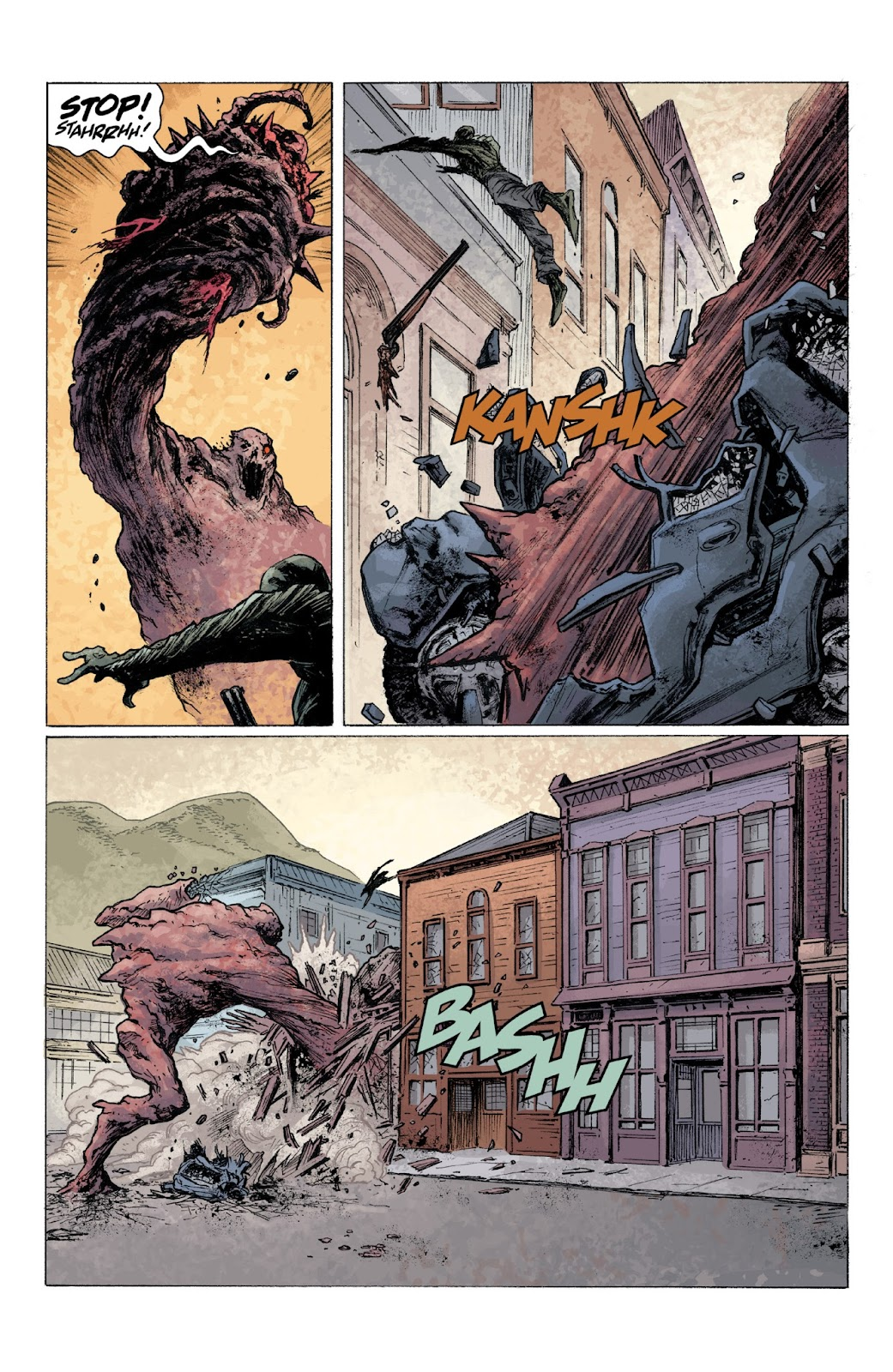 Read online Abe Sapien: Dark and Terrible and The New Race of Man comic -  Issue # TPB - 62