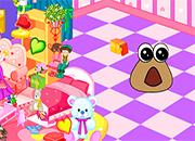 Baby Pou Room Decoration