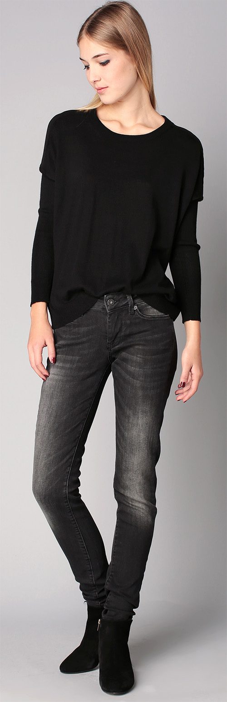 Jean slim femme noir Pepe Jeans