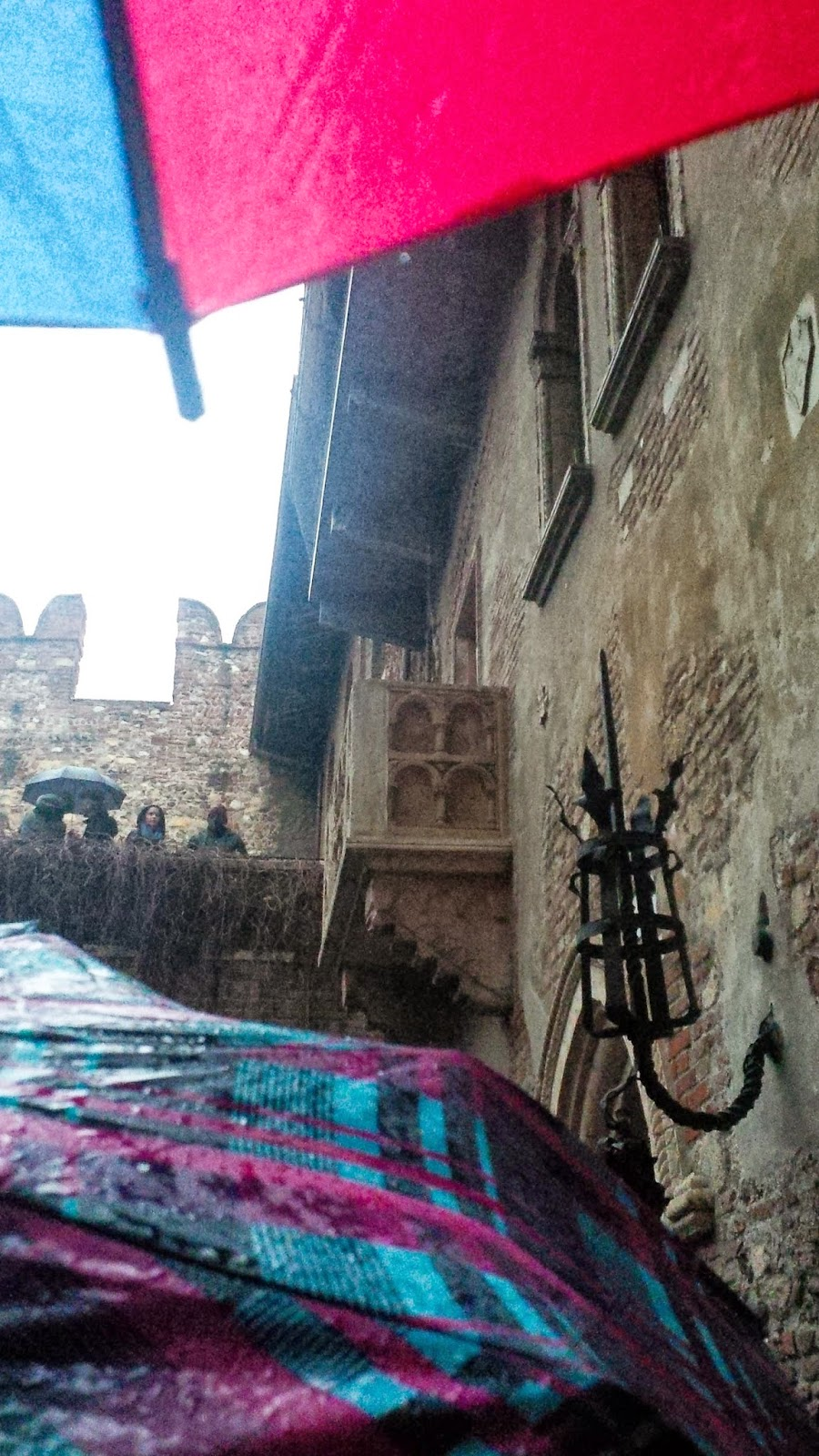 Juliet's Balcony - St. Valentine's Day, Verona 2015