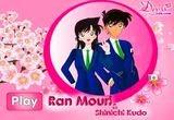 لعبة تلبيس ران موري من انمي المحقق كونان Ran Mouri Dress Up