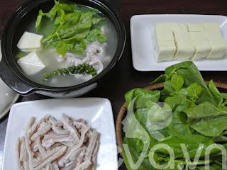 Mê mẩn dạ dày hầm tiêu xanh