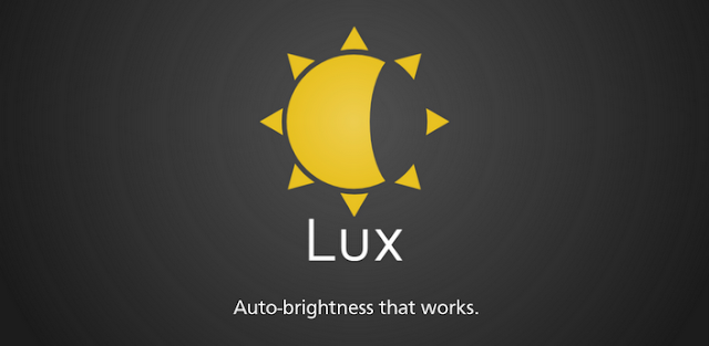 Lux Auto Brightness v1.04 APK