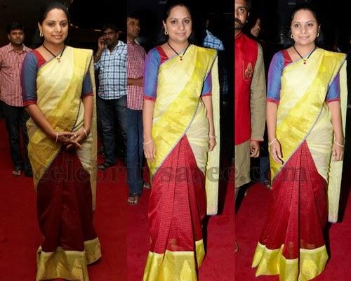 Kavitha Half and Half Sari