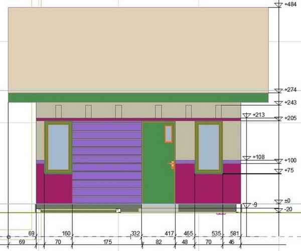 contoh rumah minimalis detail ukuran rumah minimalis type 22
