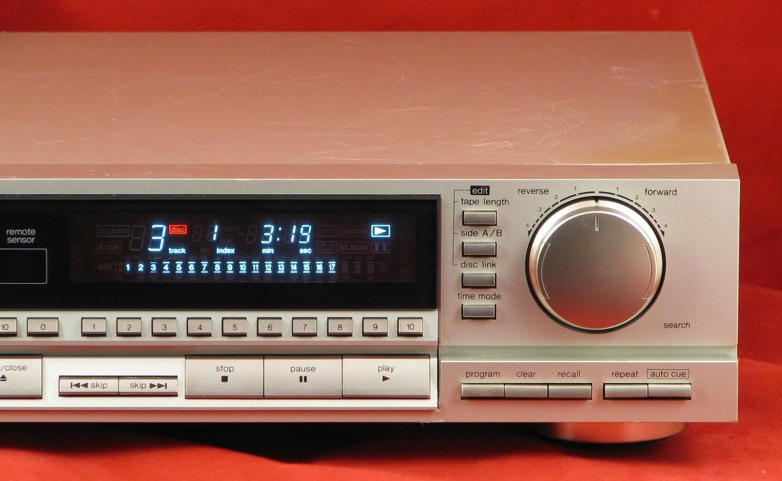 Technics SL-P333 - CD Player | AudioBaza