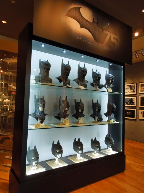 Batman movie mask cowls