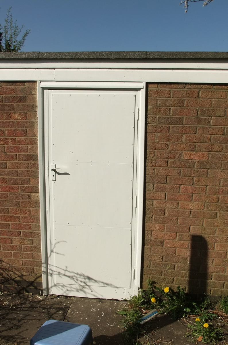 garage side door