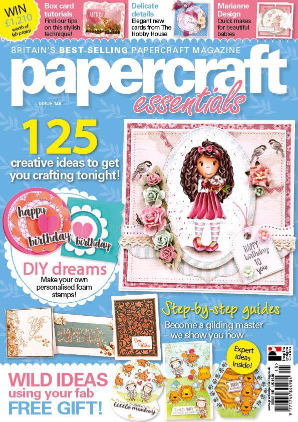 Papercraft essentials, April 2017