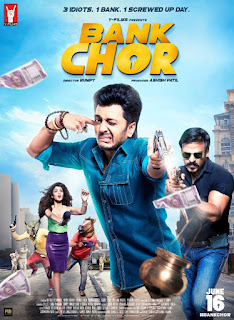 Bank Chor 2017 Hindi Movie 720p hevc DVDRip x265 [550MB]