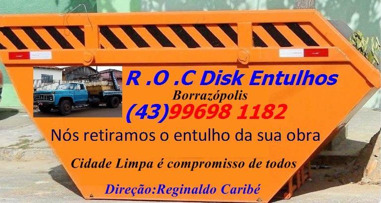 R.O.C  DISK ENTULHOS