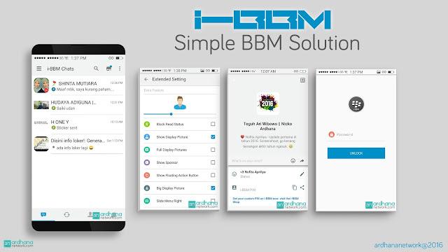 Preview i-BBM V11.0.01 - BBM Android V2.11.0.16