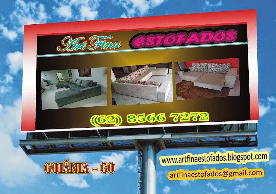ART FINA ESTOFADOS Fone; (62) 8566 7272