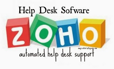 Zoho help desk software image