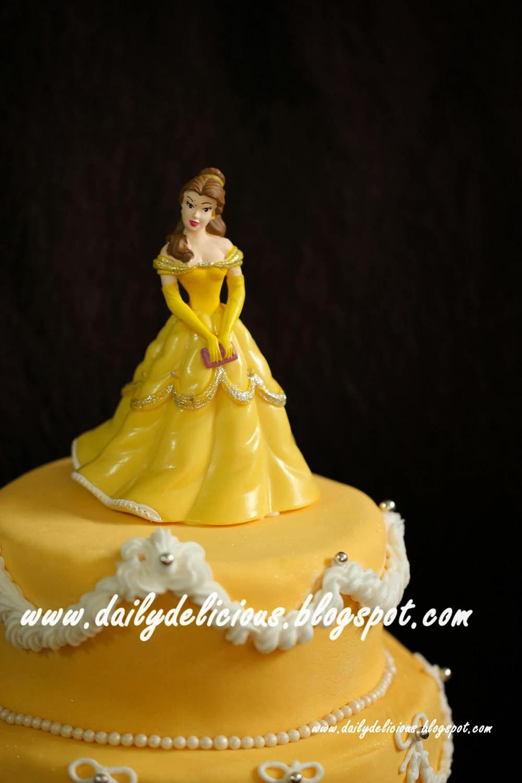 Dailydelicious Happy Birthday My Niece Princess Cake Chocolate