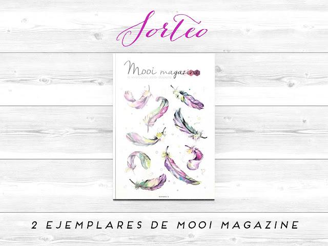 Sorteo revista Mooi magazine