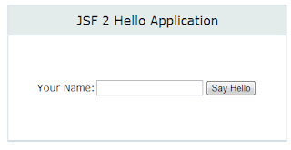 JBoss KickStart JSF template