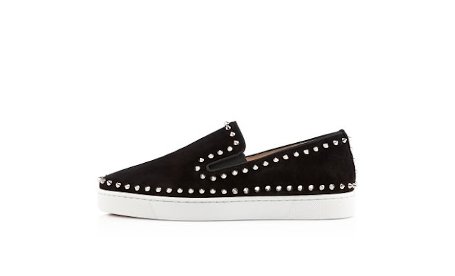 Mens Louboutin Boat Shoes