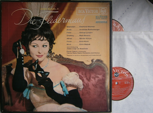 Johann Strauss,Jr.: Die Fledermaus - Oscar Danon with The Vienna State Opera Orchestra and Chorus on RCA Victor 1964