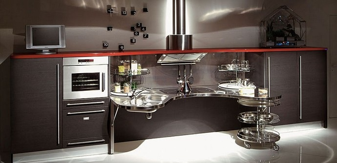 Skylab Is A Versatile System For The Kitchen For An Extended Concept Of  Users, Not Just The Disabled But Also For Their Families, For Seniors And  For ...