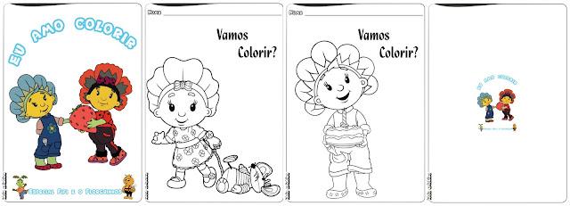 Revista de Colorir Especial Fifi e os Florguinhos