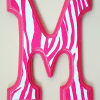 DIY Kids Wall Art With Craft Letters