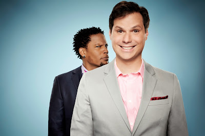 Michael Ian Black and D.L. Hughley of Trust Me I'm a Game Show Host