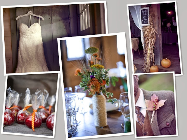 Rustic New York Fall Wedding